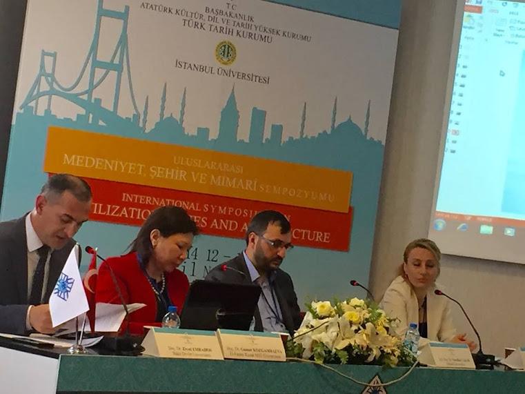 Türk Tarih Kurumu ve İstanbul Üniversitesi işbirliğiyle; Uluslar arası Medeniyet, Şehir ve Mimari Sempozyumu