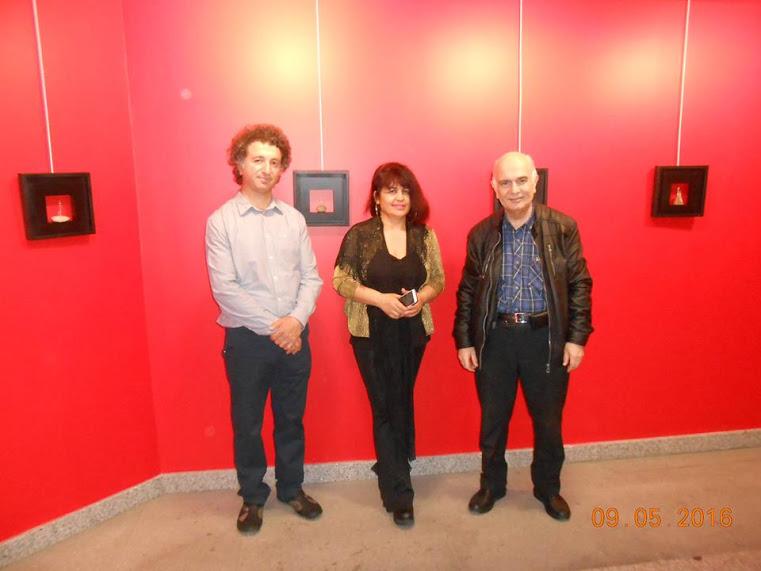 Tünel Ziraat Sanat Galerisinde Selçuk Yılmaz Heykel Sergisi…