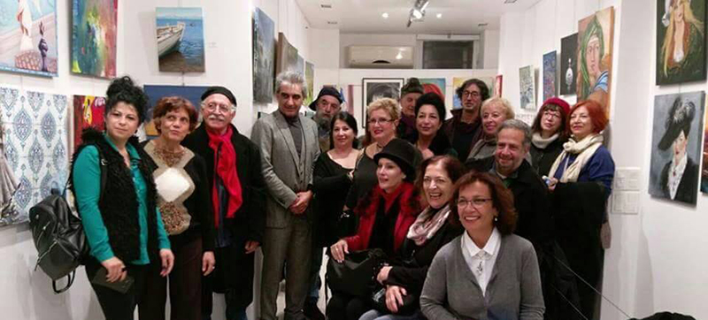Sanat elçilerimizin Paris çıkartması