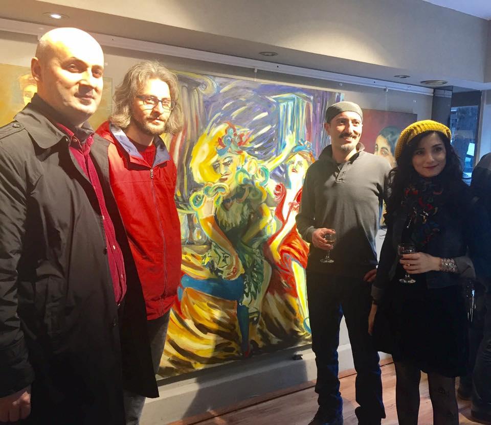 Niş Art Maçka'da karma sergi:  26 Sanatçıdan ENIGMA…