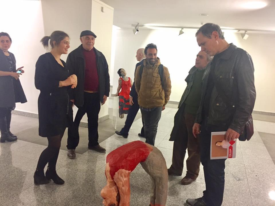 Ziraat Sanat'ta Aysel Alver heykel sergisi