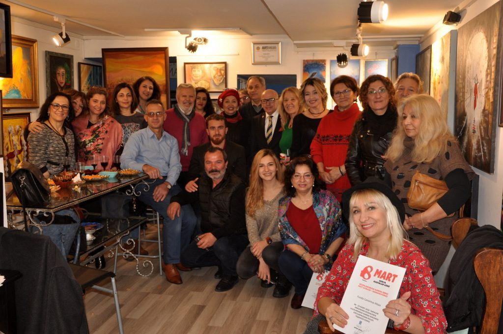 """KORKMUYORUZ / NO AFFRAID"" GALERIA MAVİST'TE"